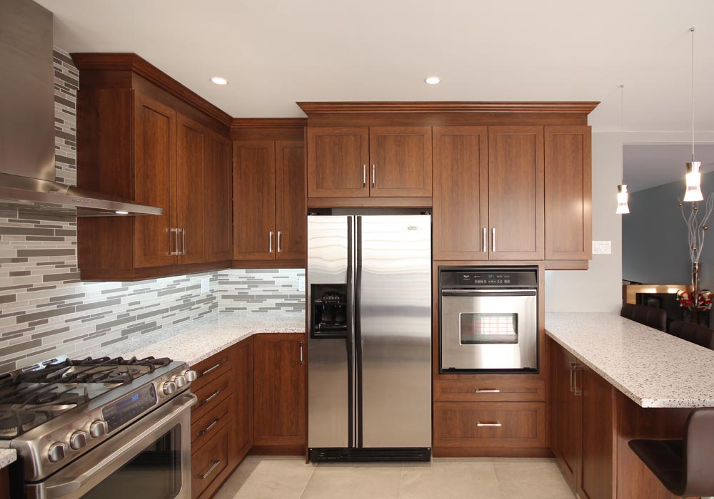 design de cuisine projets robert design. Black Bedroom Furniture Sets. Home Design Ideas